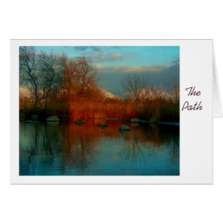 The Path-Get Well Soon Greeting Card