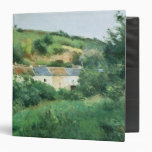 The Path in the Village, 1875 3 Ring Binder