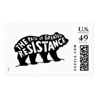 The Path of Greatest Resistance Stamp