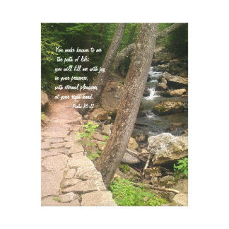 The Path of Life Canvas