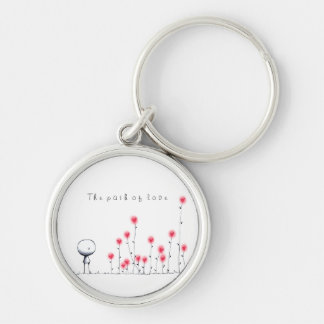 The path of love keychain