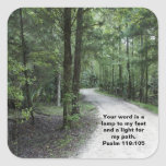 The Path Square Stickers