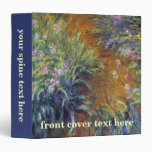 The Path Through the Irises by Claude Monet Vinyl Binders