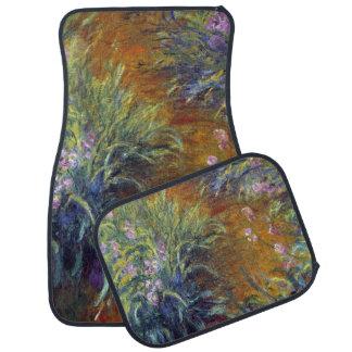 The Path Through the Irises by Claude Monet Car Floor Mat