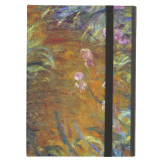The Path Through the Irises by Claude Monet iPad Cases