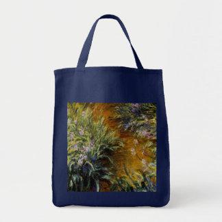 The Path Through the Irises Tote Bag
