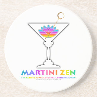 The Path to Cocktail Enlightenment Coasters