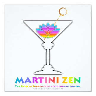 The Path to Cocktail Enlightenment Invitations
