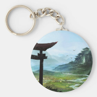 The Path To Enlightenment Keychain
