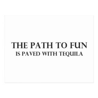 The Path to Fun 1 Postcard