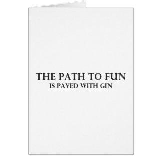 The Path to Fun 3 Card