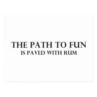 The Path to Fun 4 Postcard