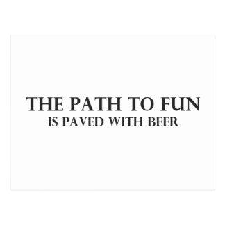 The Path to Fun 5 Postcard