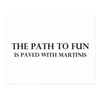 The Path to Fun Postcard