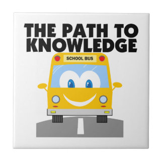 The  Path to Knowledge Ceramic Tile
