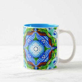 The Path to Nirvana Two-Tone Coffee Mug
