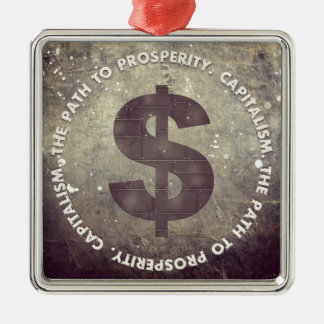 The Path To Prosperity Metal Ornament