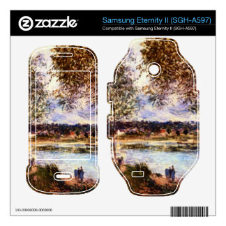 The Path to the Old Ferry 1880 by Alfred Sisley Samsung Eternity II Skin