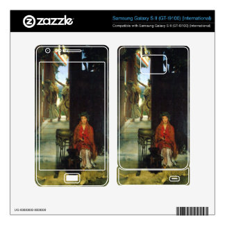 The path to the temple by Lawrence Alma-Tadema Samsung Galaxy S II Skins