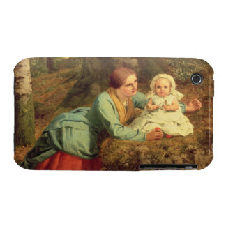 The Path Where The Brown Leaves Are Spread, 1862 ( iPhone 3 Cases