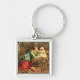 The Path Where The Brown Leaves Are Spread, 1862 ( Key Chain