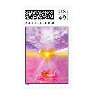 The Pathway of Divine Love Stamps