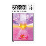 The Pathway of Divine Love Postage Stamp
