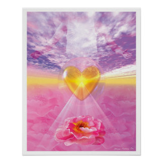 The Pathway of Divine Love Poster