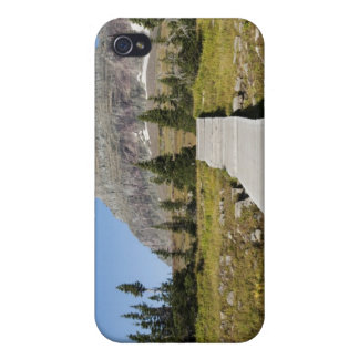 The pathway to the view of Hidden Lake iPhone 4 Case