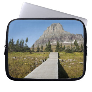 The pathway to the view of Hidden Lake Laptop Sleeve
