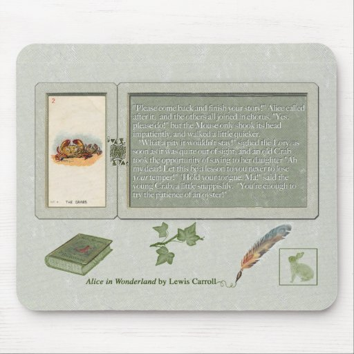The Patience of an Oyster Mousepad Mouse Mat