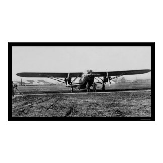 The Patrician, Largest Passenger Airplane 1929 Poster