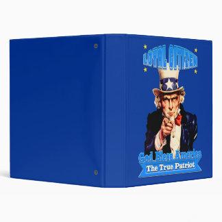 "The Patriot"" 3 Ring Binder"