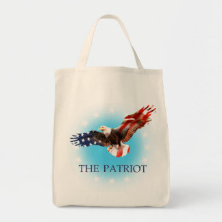 The Patriot Grocery Tote Bag