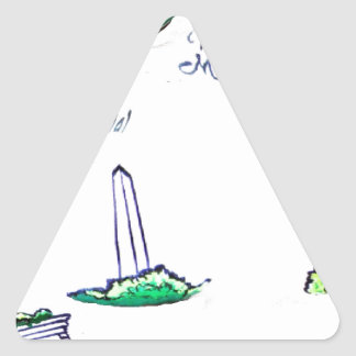 The Patriot Collection Triangle Sticker