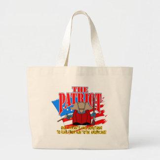 The Patriot  Gun Totin Large Tote Bag