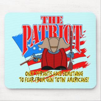The Patriot  Gun Totin Mouse Pad