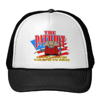 The Patriot  Gun Totin Trucker Hat