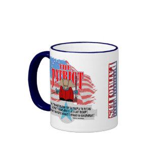 The Patriot TJ Quote Weapons Coffee Mug