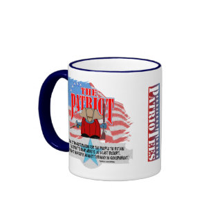 The Patriot TJ Quote Weapons Ringer Mug