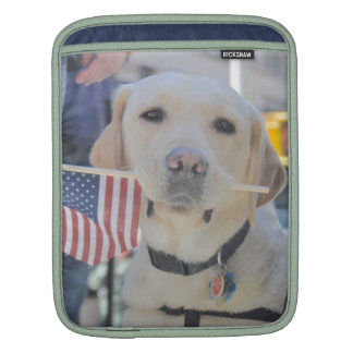 The Patriotic Dog iPad Sleeves