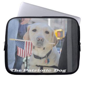 The Patriotic Dog Computer Sleeve