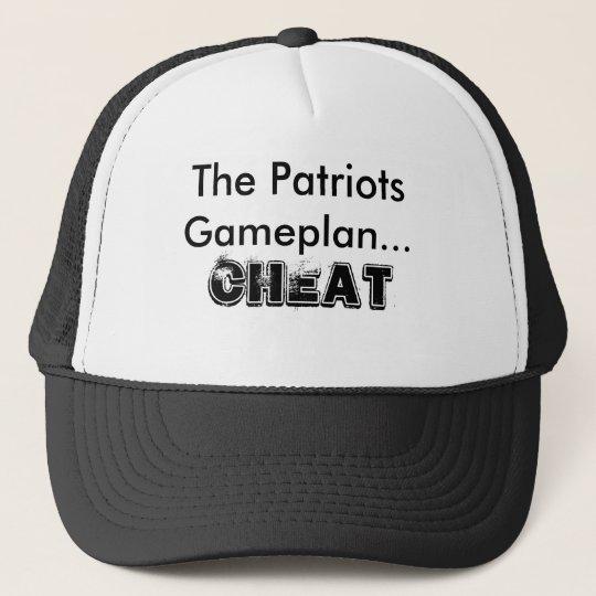 The Patriots Gameplan..., CHEAT Trucker Hat