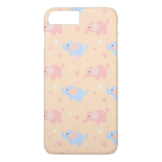 The Patterned Ear Elephant iPhone 7 Plus Case