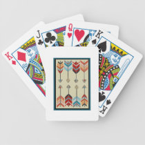 THE PATTERNS REPRESENT BICYCLE PLAYING CARDS