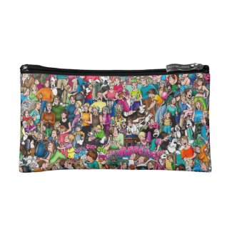 """The Pattersons"" Small Cosmetic Bag"