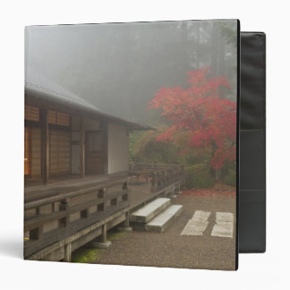 The pavilion at the Portland Japanese Garden Binder