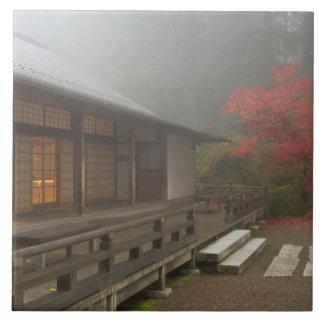 The pavilion at the Portland Japanese Garden Tile