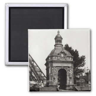 The Pavilion Perrusson 2 Inch Square Magnet