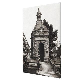 The Pavilion Perrusson Canvas Print